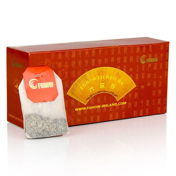 Fohow Liuwei Cha Cordyceps Puer Tea
