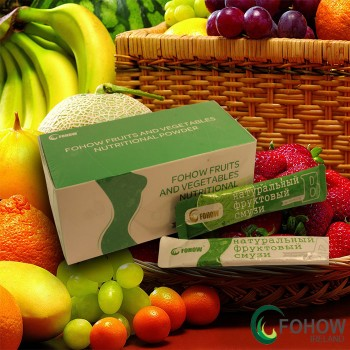 Natural Fruit smoothies ABC Fohow - 12 sachets