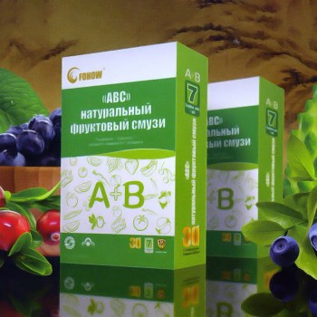 Natural Fruit smoothies ABC Fohow - 192 sachets